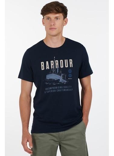 Barbour Storm T-Shirt Ny91 Navy Lacivert
